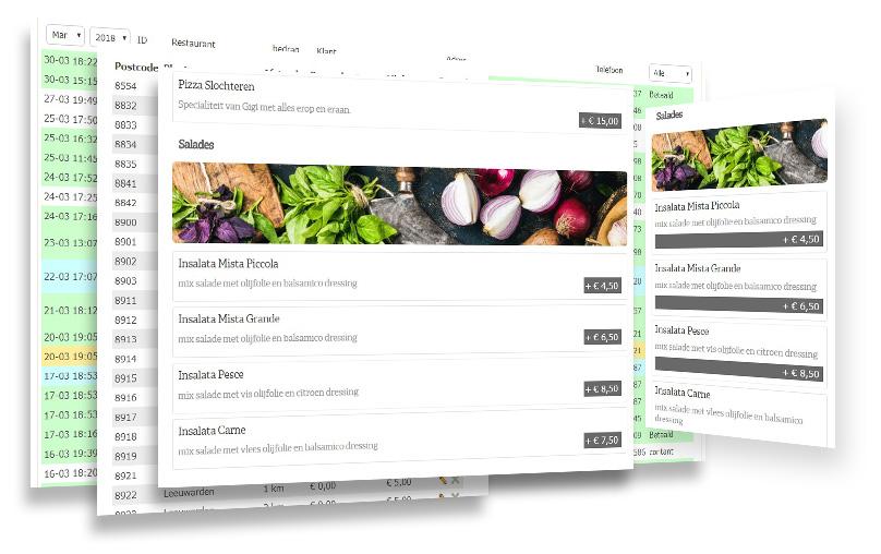Kaspcreations custom IT solution voor DInerExpress