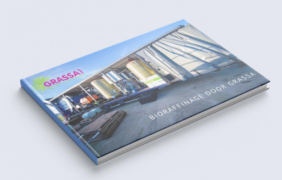 Marketingplan Grassa, gemaakt door Kaspcreations