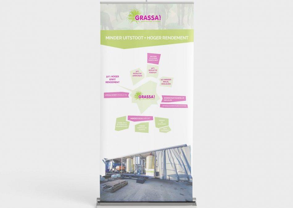 Grassa – roll up banner