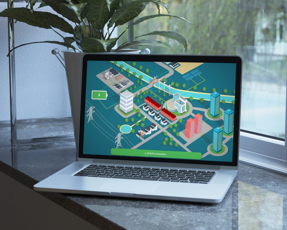Website van Pro Innovators door Kaspcreations ontworpen