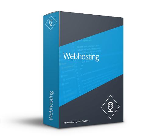 Domeinregistratie, webhosting en email bij Kaspcreations